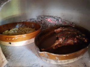 Cordero al horno