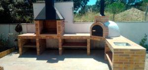 Instalación horno de leña