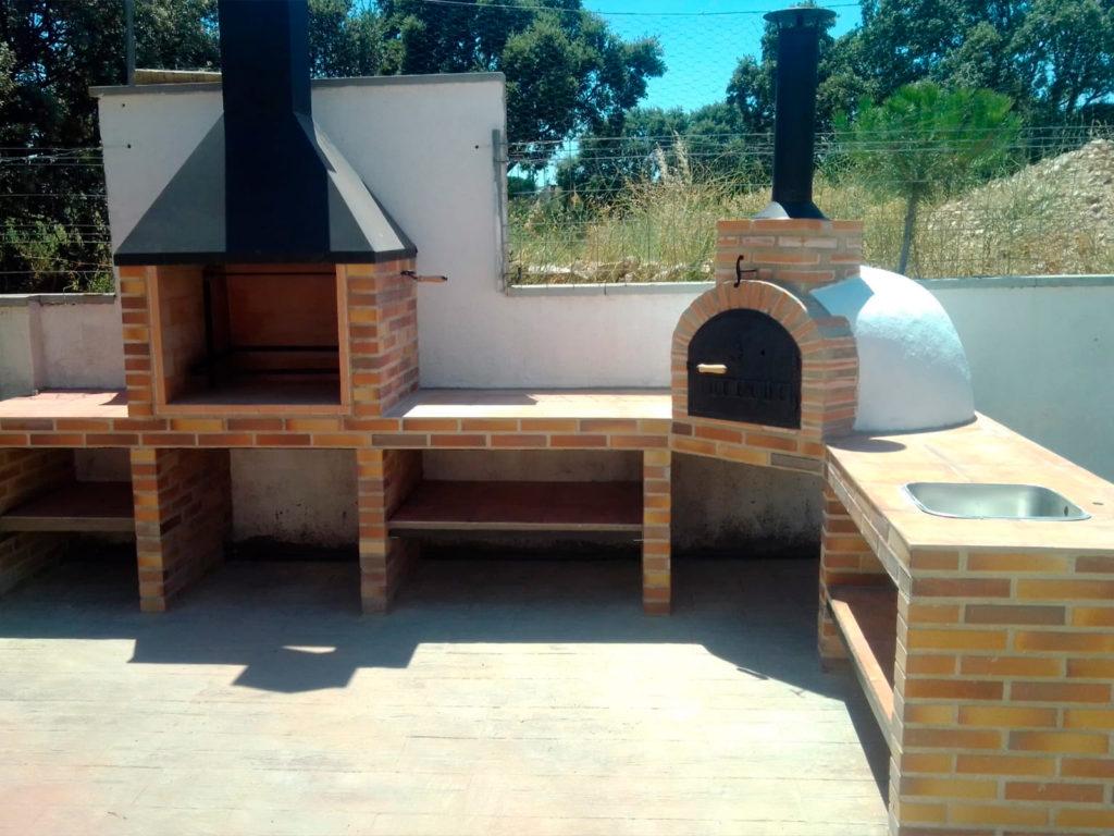 Instalación horno de leña en Galapagar